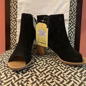 Brand new Majorca Peep toe bootie